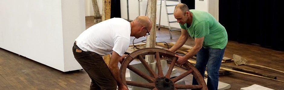 """making of """"Holz und Beton"""""""